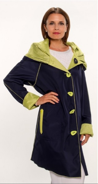 Navy Green Jacket