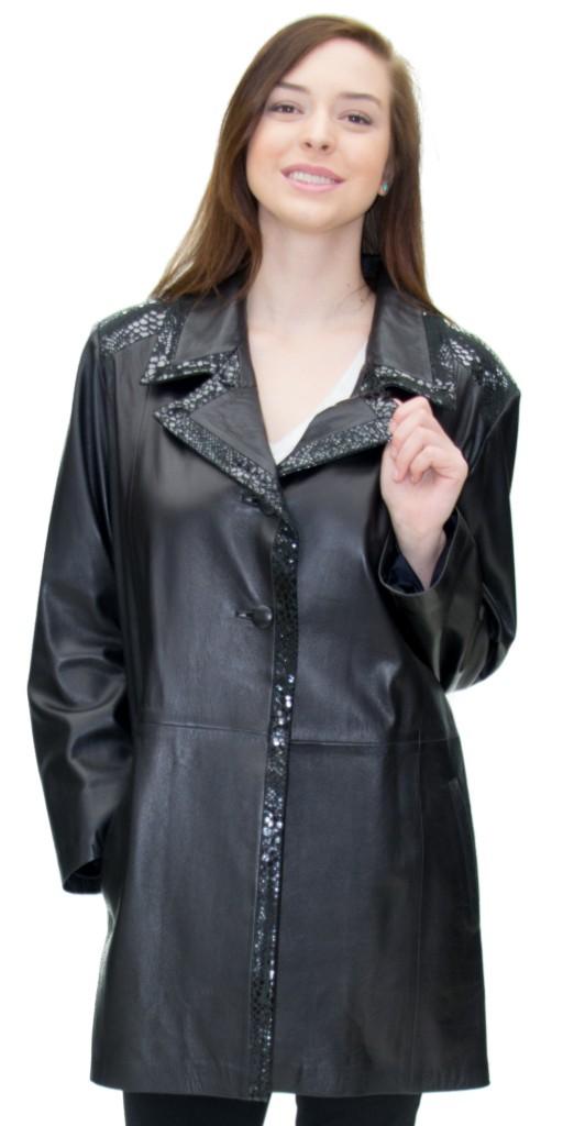 Cabretta leather jacket
