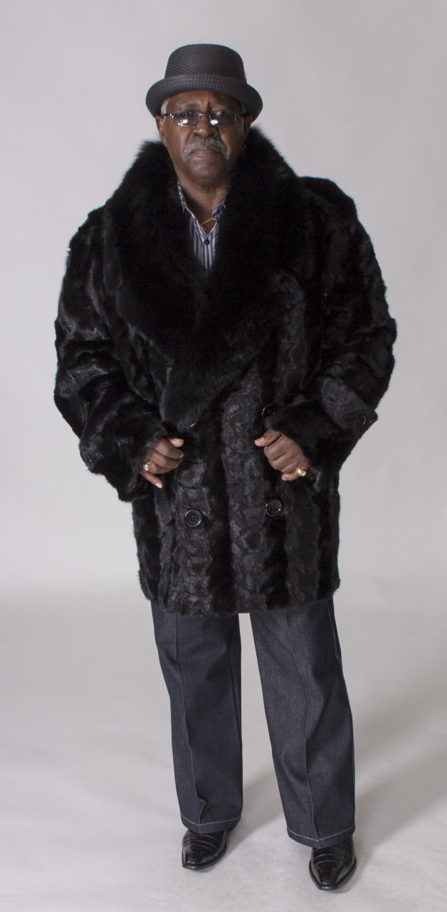 Black fox fur for sale