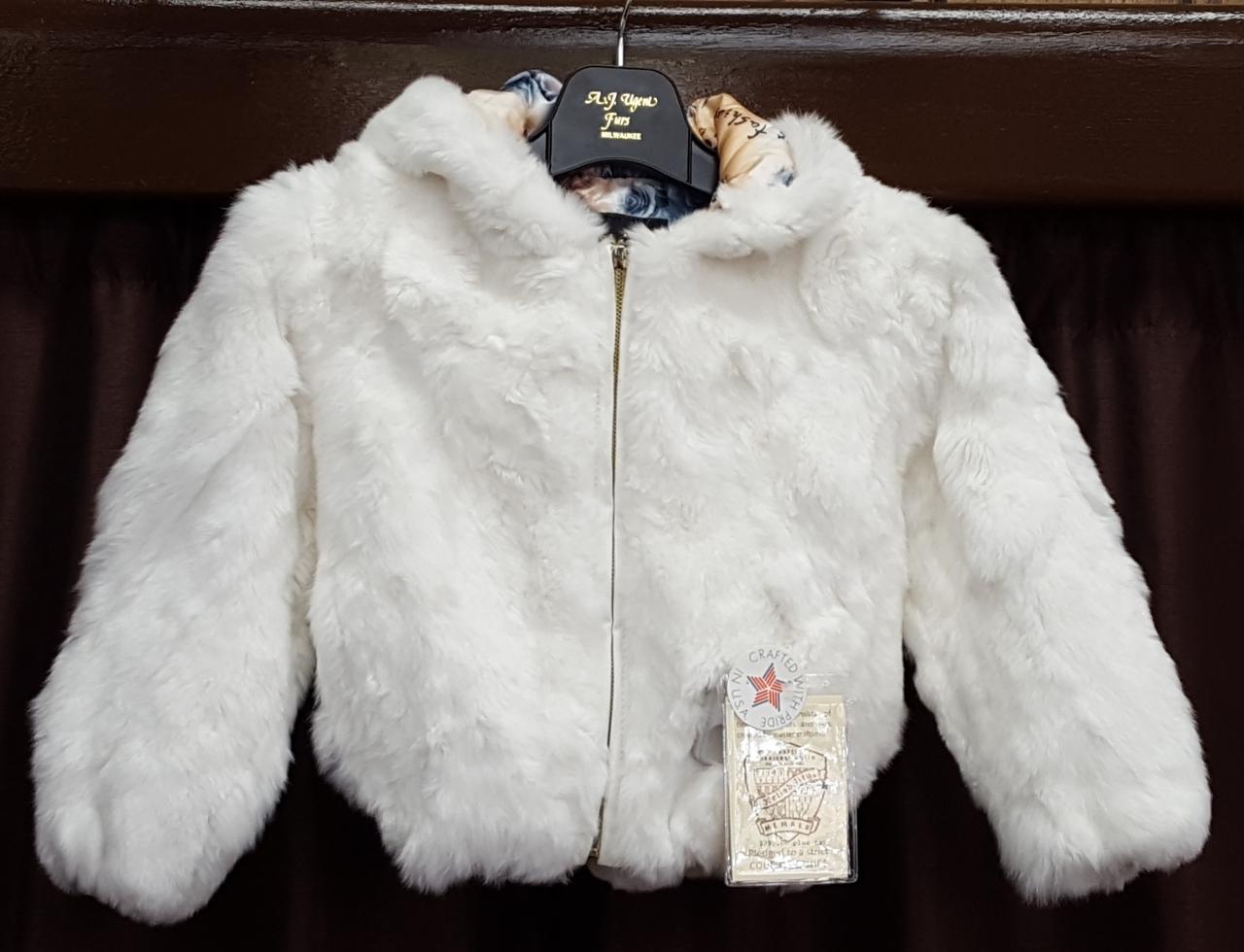 4dc24195c White Rex Rabbit Parka | A.J. Ugent Furs